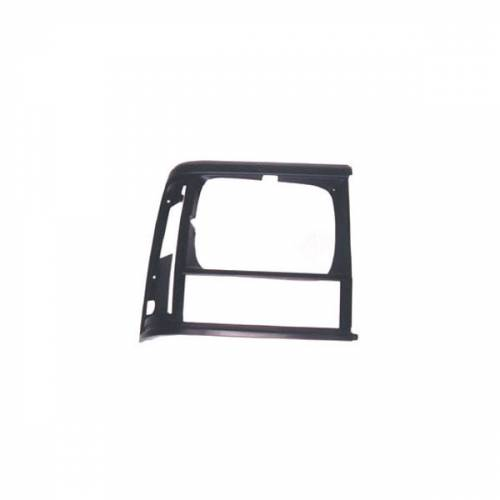 Omix-ADA - RH Black Headlight Bezel; 91-96 Jeep Cherokee XJ
