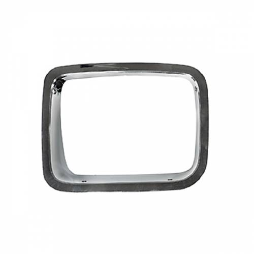 Omix-ADA - LH Chrome Headlight Bezel; 87-95 Jeep Wrangler YJ
