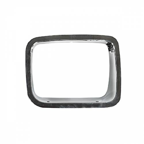 Omix-ADA - RH Chrome Headlight Bezel; 87-95 Jeep Wrangler YJ