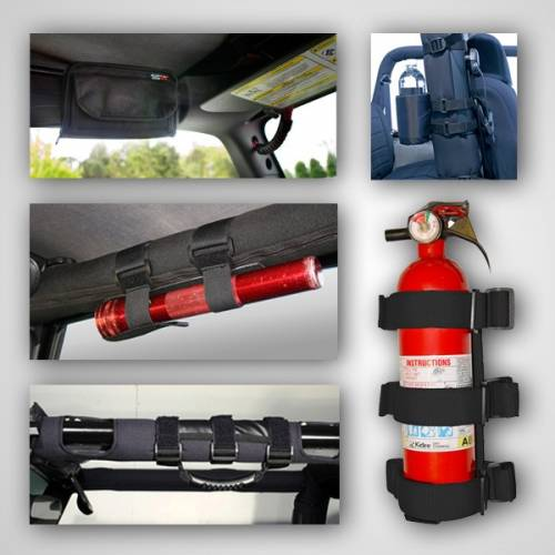Rugged Ridge - Interior Sport Bar Accessory Kit; 76-06 Jeep CJ/Wrangler YJ/TJ