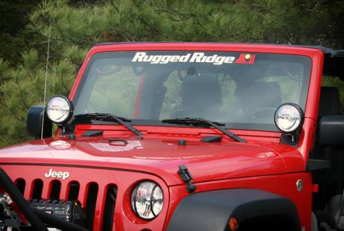 Rugged Ridge - Rugged Ridge Windshield Banner 30X3