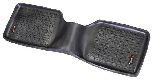 Rugged Ridge - Floor Liners, Rear, Black; 84-01 Jeep Cherokee XJ