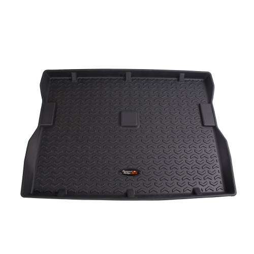 Rugged Ridge - Rugged Ridge Cargo Liner, Black (1976-86) Jeep CJ7 (1987-95) Jeep Wrangler YJ