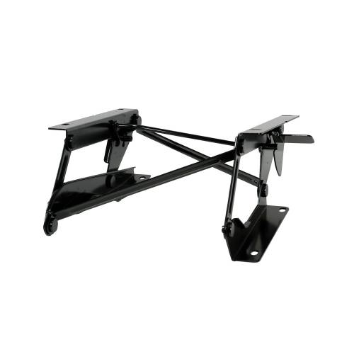 Rugged Ridge - Rugged Ridge Driver Side Fold Forward Seat Riser Bracket (1976-95) Jeep CJ/Wrangler YJ