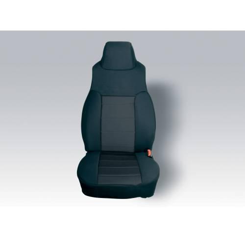 Rugged Ridge - Neoprene Front Seat Covers, Black; 03-06 Jeep Wrangler TJ