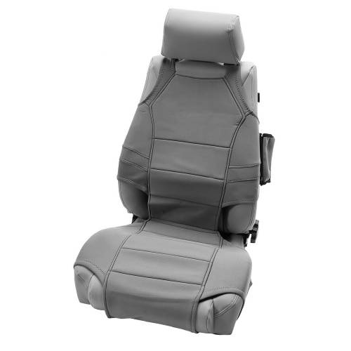 Rugged Ridge - Neoprene Seat Vests, Gray; 07-15 Jeep Wrangler JK