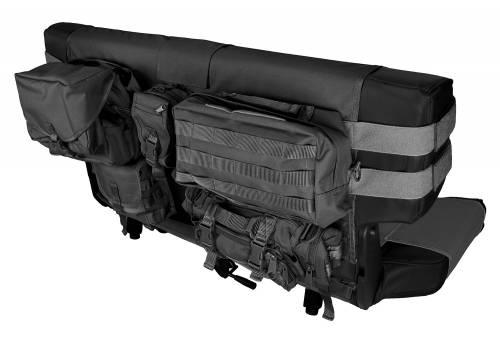 Rugged Ridge - Rear Cargo Seat Cover, Black; 76-06 Jeep CJ/Wrangler YJ/TJ