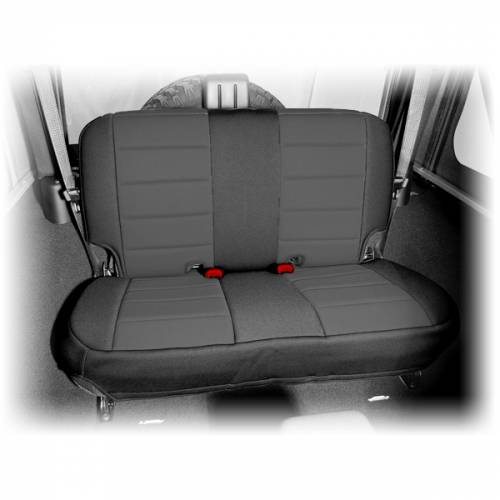 Rugged Ridge - Neoprene Rear Seat Cover, Black; 07-15 Jeep Wrangler JK