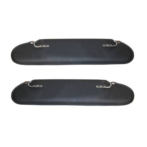 Rugged Ridge - Replacement Sun Visor, Pair; 72-86 Jeep CJ models