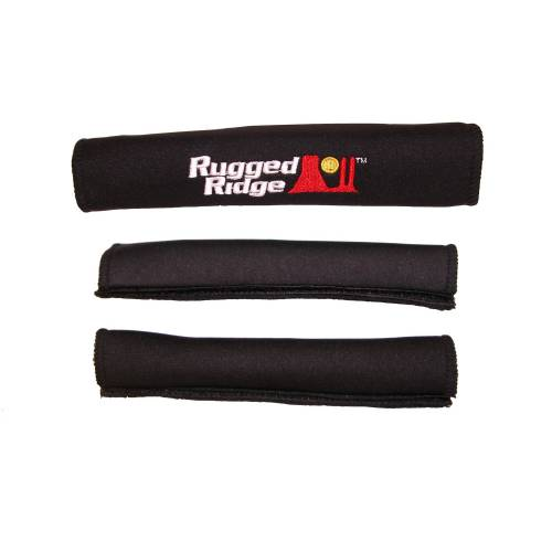 Rugged Ridge - Neoprene Door and Grab Handle Covers, Black; 97-06 Jeep Wrangler TJ