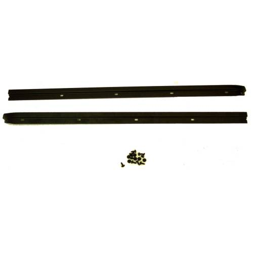 Rugged Ridge - Rugged Ridge Windshield Channel, Drill (1976-95) Jeep CJ/Wrangler YJ