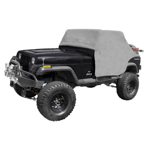 Rugged Ridge - Rugged Ridge Cab Cover, Gray (1987-91) Jeep Wrangler YJ