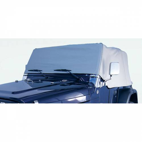 Rugged Ridge - Rugged Ridge Cab Cover, Gray (1976-86) Jeep CJ7