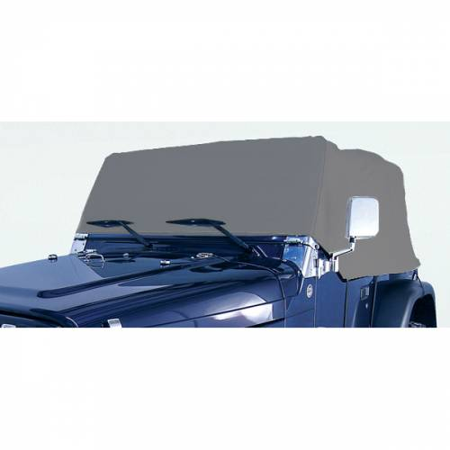 Rugged Ridge - Rugged Ridge Deluxe Cab Cover (1976-06) Jeep CJ/Wrangler YJ/TJ