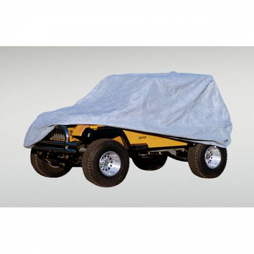 Rugged Ridge - Rugged Ridge Weather Lite Full Jeep Cover (1976-95) Jeep CJ/Wrangler YJ