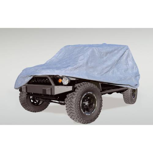 Rugged Ridge - Full Car Cover; 04-15 Jeep Wrangler Unlimited LJ/JK