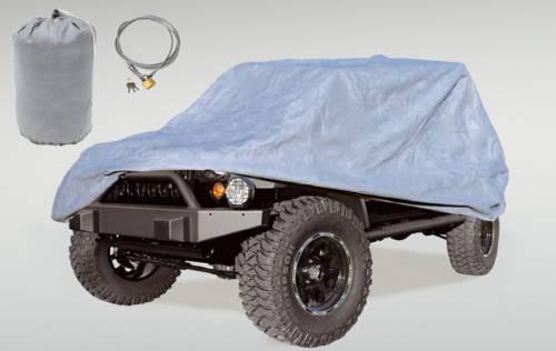 Rugged Ridge - Rugged Ridge Car Cover Kit (2007-15) Jeep Wrangler JK