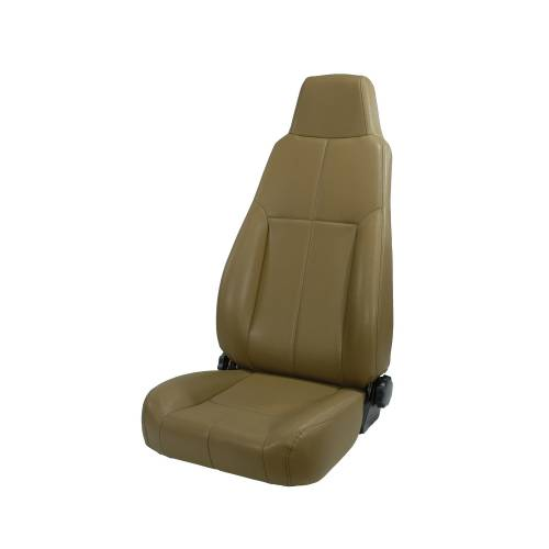 Rugged Ridge - High-Back Front Seat, Reclinable, Spice; 76-02 Jeep CJ/Wrangler YJ/TJ