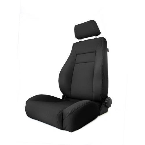 Rugged Ridge - Rugged Ridge Ultra Front Seat, Reclinable, Black (1997-06) Jeep Wrangler TJ