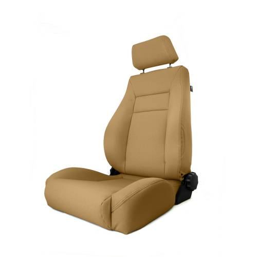 Rugged Ridge - Rugged Ridge Ultra Front Seat, Reclinable, Spice (1997-06) Jeep Wrangler TJ