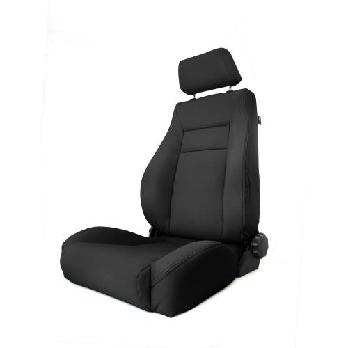 Rugged Ridge - Rugged Ridge Ultra Front Seat, Reclinable, Black (1984-01) Jeep Cherokee XJ