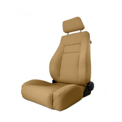 Rugged Ridge - Rugged Ridge Ultra Front Seat, Reclinable, Spice (1984-01) Jeep Cherokee XJ
