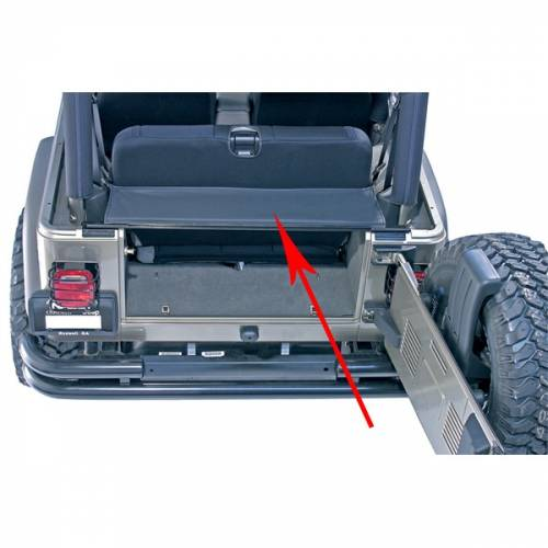 Rugged Ridge - Rugged Ridge Tonneau and Replacement Tailgate Bar (1987-06) Jeep Wrangler YJ/TJ
