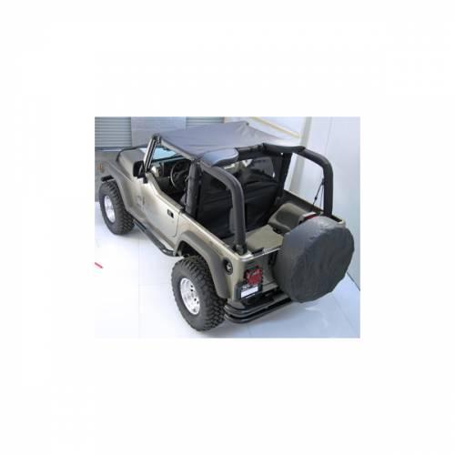 Rugged Ridge - Rugged Ridge Summer Brief Top, Gray (1992-95) Jeep Wrangler YJ