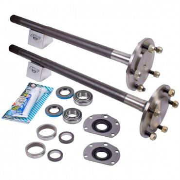 Omix-ADA - Omix-ADA 1 Piece Full Axle Kit (1976-83) Jeep CJ, AMC 20