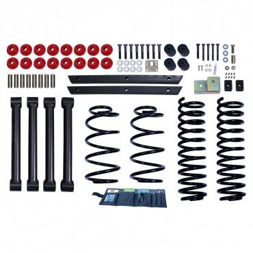 Rugged Ridge - Rugged Ridge 2 Inch Lift Kit without Shocks (2004-06) Jeep Wrangler Unlimited LJ