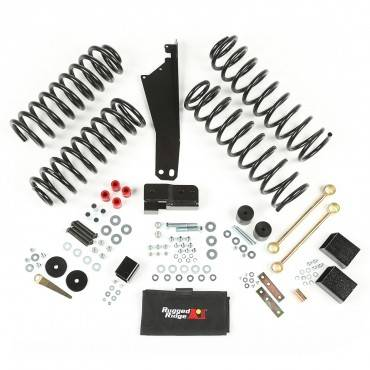 Rugged Ridge - Rugged Ridge 2.5 Inch Lift Kit without Shocks (2007-15) Jeep Wrangler JK