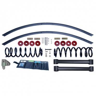 Rugged Ridge - Rugged Ridge 3 Inch Lift Kit without Shocks (1984-01) Jeep Cherokee XJ