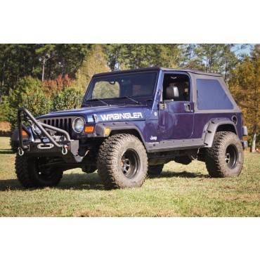 Outland Automotive - Outland Automotive 4 Piece All Terrain Fender Flare Kit, 4.75 Inch (1997-06) Wrangler TJ