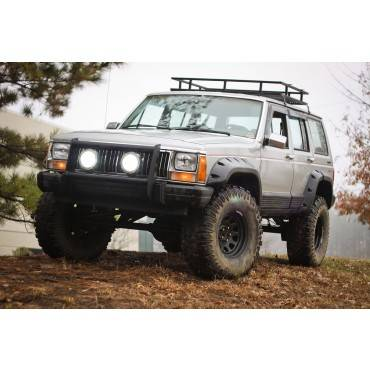 Outland Automotive - Outland Automotive 6 Piece All Terrain Fender Flare Kit, 4-Door (1984-01) Jeep Cherokee XJ