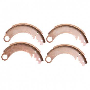 Omix-ADA - Omix-ADA 9 Inch Rear Brake Shoes (1990-06) Jeep Wrangler