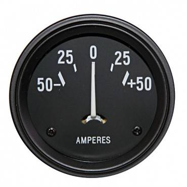 Omix-ADA - Omix-ADA Ammeter Gauge (1941-67) Willys and Jeep Models