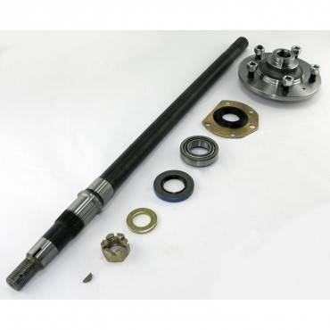 Omix-ADA - Omix-ADA Axle Kit, LH (1976-79) Jeep CJ Models, AMC 20 QuadraTrac