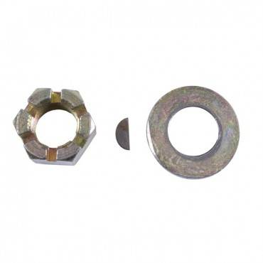 Omix-ADA - Omix-ADA Axle Shaft Nut Washer and Key Kit (1976-86) Jeep CJ Models