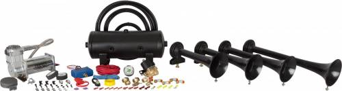 HornBlasters - Conductor's Special 240, 2 Gallon, 150psi 400c, Train Horn Kit