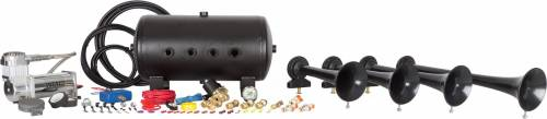 HornBlasters - Conductor's Special 540, 5 Gallon, 150psi 400c, Train Horn Kit