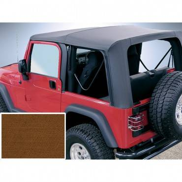 Rugged Ridge - Rugged Ridge XHD Soft Top, Tan, Tinted Windows (1997-06) Jeep Wrangler TJ