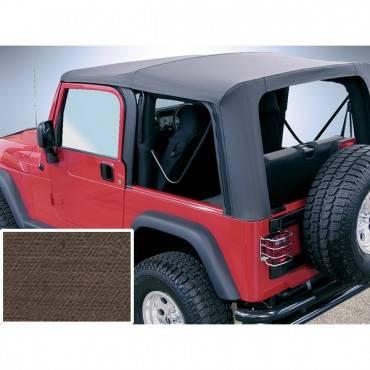 Rugged Ridge - Rugged Ridge XHD Soft Top, Khaki, Tinted Windows (1997-06) Jeep Wrangler TJ