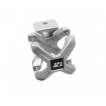 Rugged Ridge - Rugged Ridge X-Clamp, Silver, 1.25-2.0 Inches