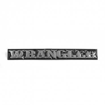 Omix-ADA - Omix-ADA Wrangler Emblem (1987-90) Jeep Wrangler