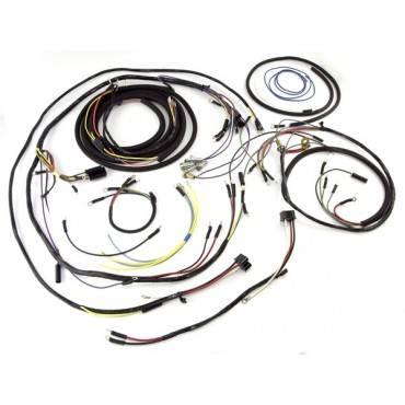 omix-ada wiring harness (1945-46) willys cj2a jeep cj7 engine wiring harness diagram #9