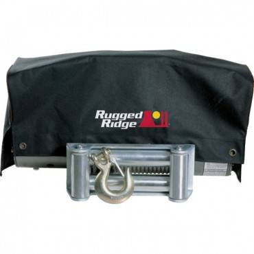 Rugged Ridge - Rugged Ridge Winch Cover, 8,500lb and 10,500lb winches