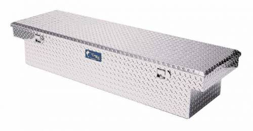 "UWS Tool Boxes - UWS Truck Tool Box, 69""L x 19.25""W x 13.5""H Aluminum Diamond Plate, Single Lid"