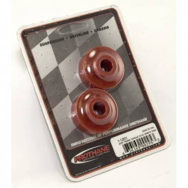 Rugged Ridge - Rugged Ridge Bushing Poly Stab Pair Red (1972-95) Jeep CJ/Wrangler YJ