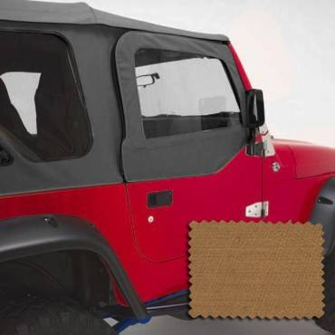 Rugged Ridge - Rugged Ridge Upper Soft Door Kit, Spice (1997-06) Jeep Wrangler TJ