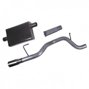 Rugged Ridge - Rugged Ridge Cat Back Exhaust Kit (2002-06) Jeep Liberty KJ